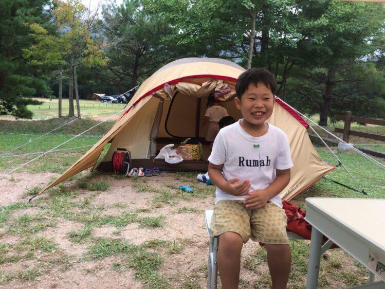 2018,8,20初キャンプ