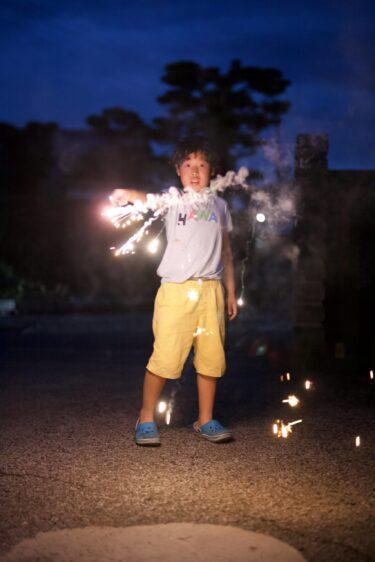 カメラのレンズを購入したので試しに花火の撮影をしてみました。