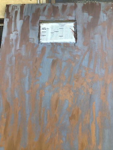 襖を直すことができたのでアンティークなドアに挑戦